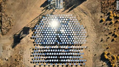 Los Angeles-based Heliogen harnesses the power of the sun to create the extreme heat required for mining, steel, cement and other industrial processes. The solar array pictured is not from the Rio Tinto mine, which has not yet launched the Heliogen platform.
