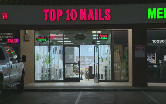 Nail salon business owner in Riverside receives hateful, anti-Asian letter
