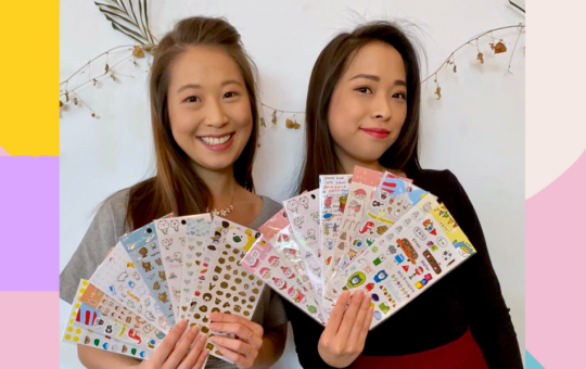 These Sisters Found Their Startup Win in Stickers from Asia