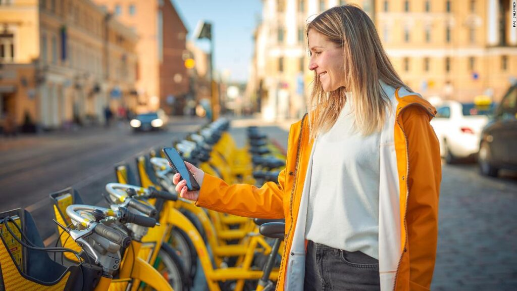 Mobile app Whim lets users pay for a whole urban trip via a single app, giving access to multiple forms of transport.