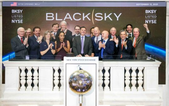 Now officially a public company, BlackSky moving to expand sales and marketing